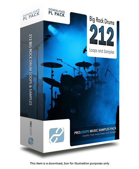 Big Rock Drum Loops v1