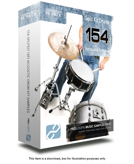 Split Kit Hi Quality Drum Loops v1